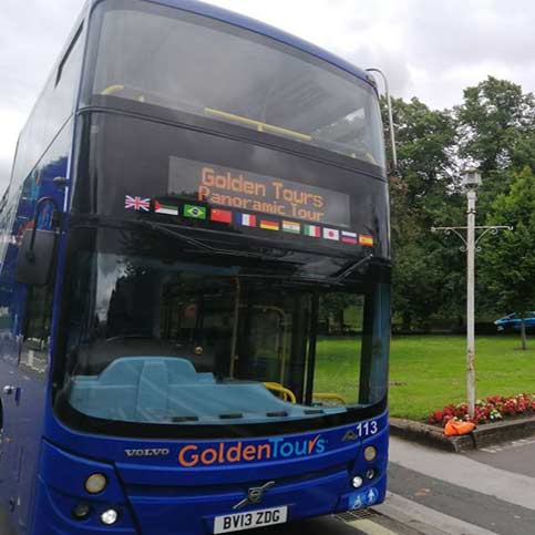 Golden Tours Hop on Hop off Windsor Bus Tour 24 Hours