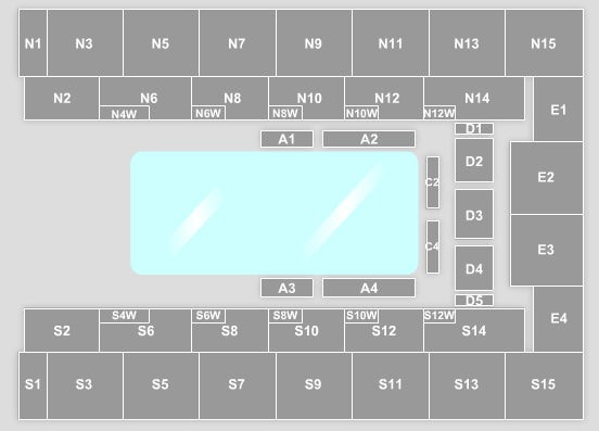 SSE Arena Wembley Seating Plan