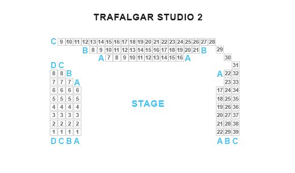 Trafalgar Studio Two Seating Plan