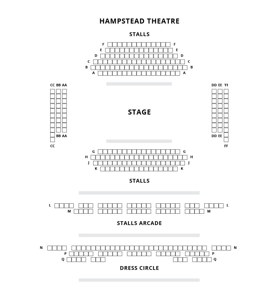 Hampstead Theatre Seating Plan