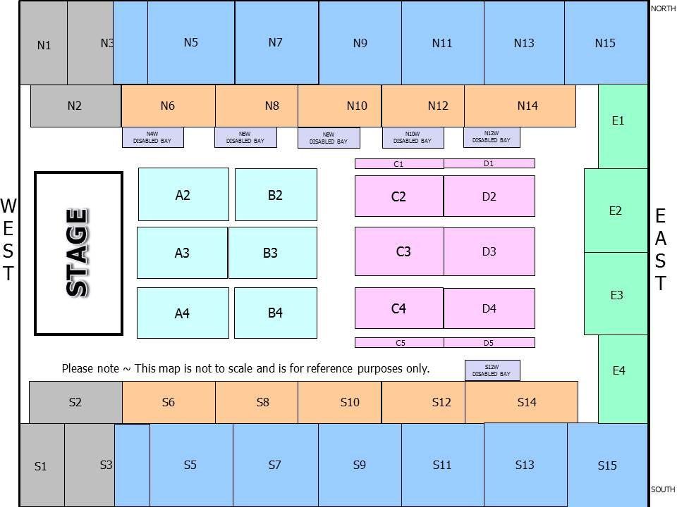 SSE Wembley Arena Seating Plan