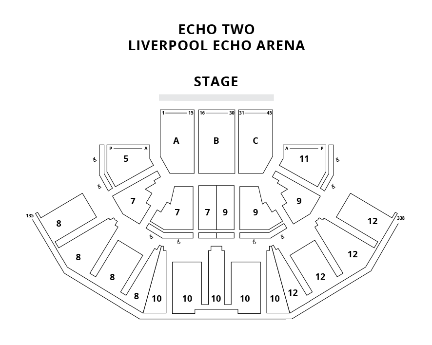 EchoTwo Seating Plan