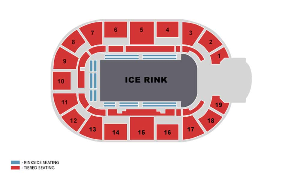 Motorpoint Arena Nottingham Seating Plan