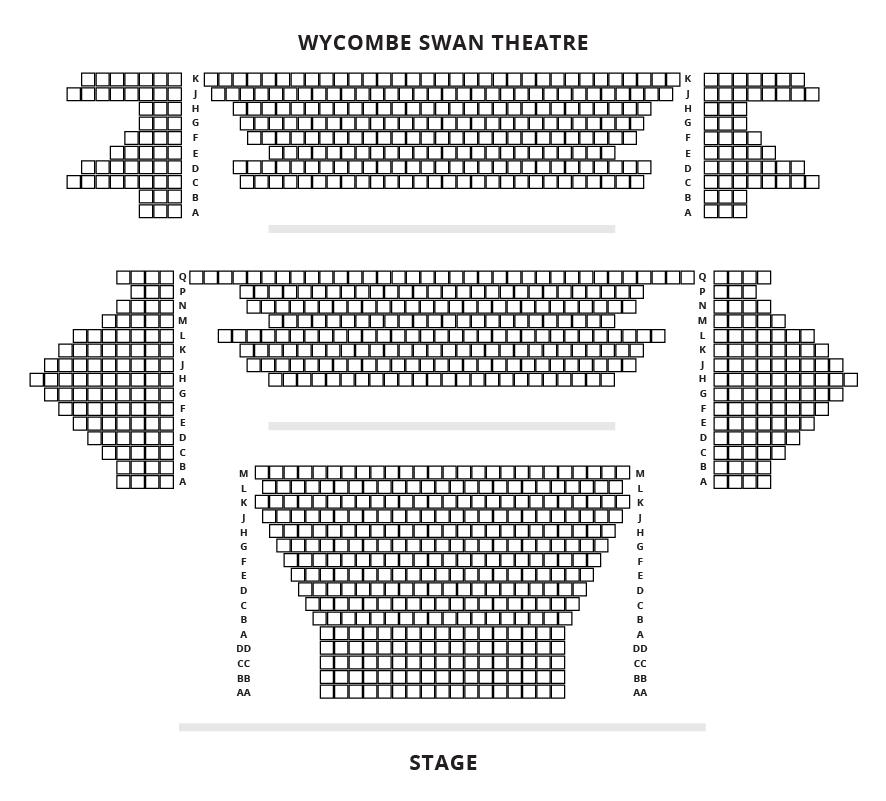 Wycombe Swan Seating Plan